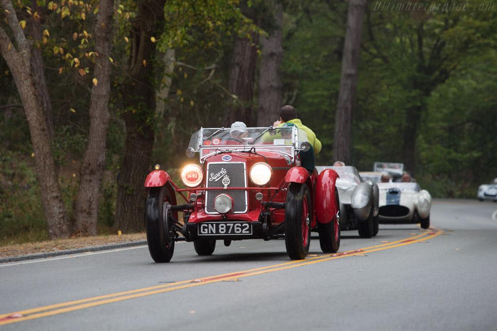 OM 665 SSMM Team Car  - Entrant: Dr. Richard D. Lisman  - 2014 Pebble Beach Concours d'Elegance