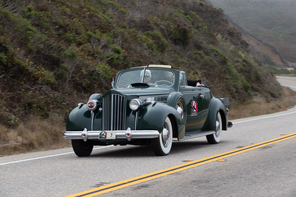 Packard Super 8 Convertible Coupe  - Entrant: David Madeira & Lynda Love  - 2014 Pebble Beach Concours d'Elegance