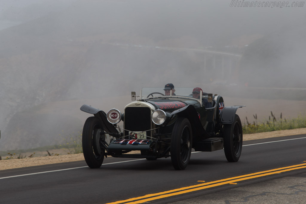 Sunbeam 24/60 Sports  - Entrant: John Fitzpatrick & Reg Kenny - 2014 Pebble Beach Concours d'Elegance