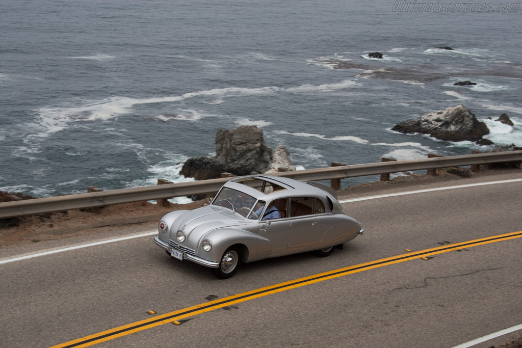 Tatra T87 Aerodynamic Saloon  - Entrant: John Lang & Helena Mitchell  - 2014 Pebble Beach Concours d'Elegance