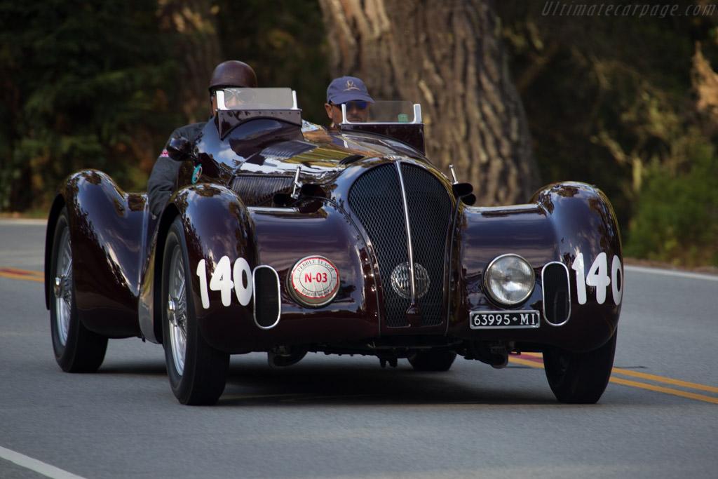 Alfa Romeo 6C 2300B MM - Chassis: 815001 - Entrant: Pierre F. Mellinger  - 2015 Pebble Beach Concours d'Elegance