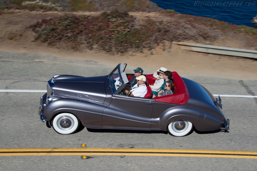 Bentley R-Type Park Ward Drophead Coupe  - Entrant: Robert & Agata Matteucci  - 2015 Pebble Beach Concours d'Elegance