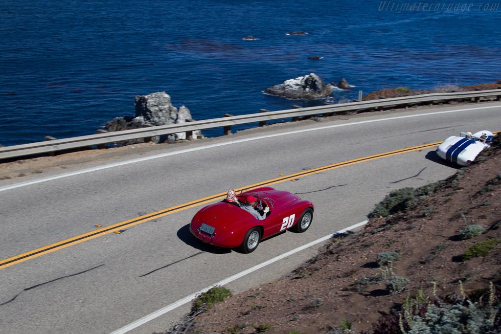Ferrari 166 MM Touring Barchetta - Chassis: 0010M - Entrant: Jon Shirley  - 2015 Pebble Beach Concours d'Elegance