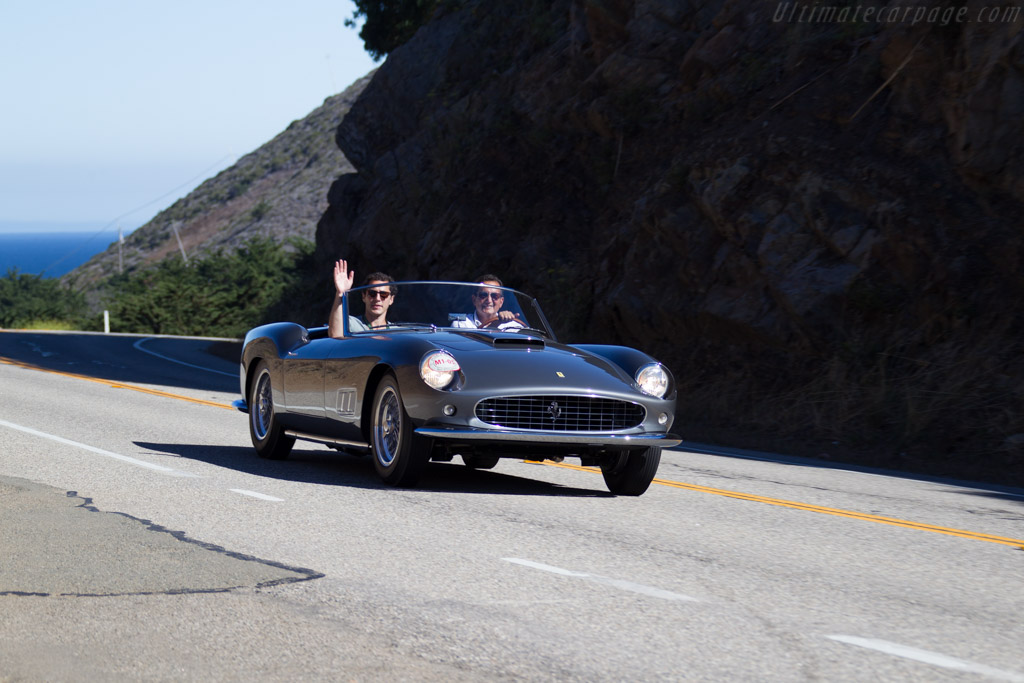 Ferrari 250 GT LWB California Spider - Chassis: 0919GT - Entrant: Marc Fisher  - 2015 Pebble Beach Concours d'Elegance