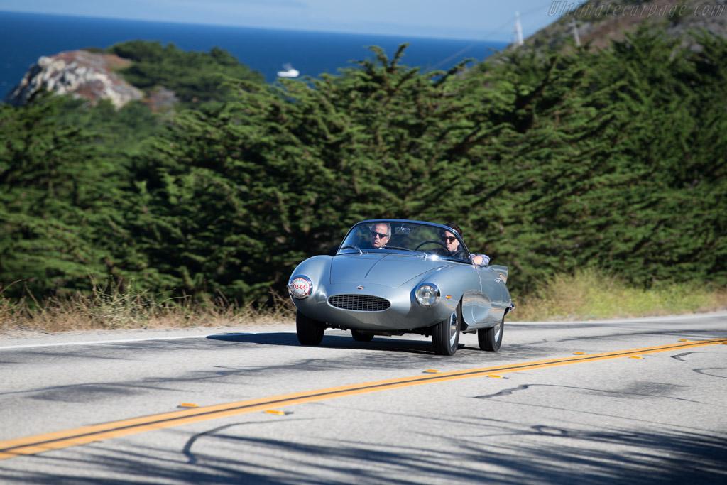Fiat Stanguellini Bertone Spider  - Entrant: Eugenio Schlossberg  - 2015 Pebble Beach Concours d'Elegance