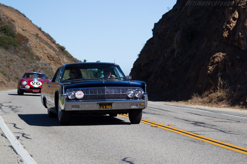 Lincoln Continental Sedan  - Entrant: John H. White  - 2015 Pebble Beach Concours d'Elegance