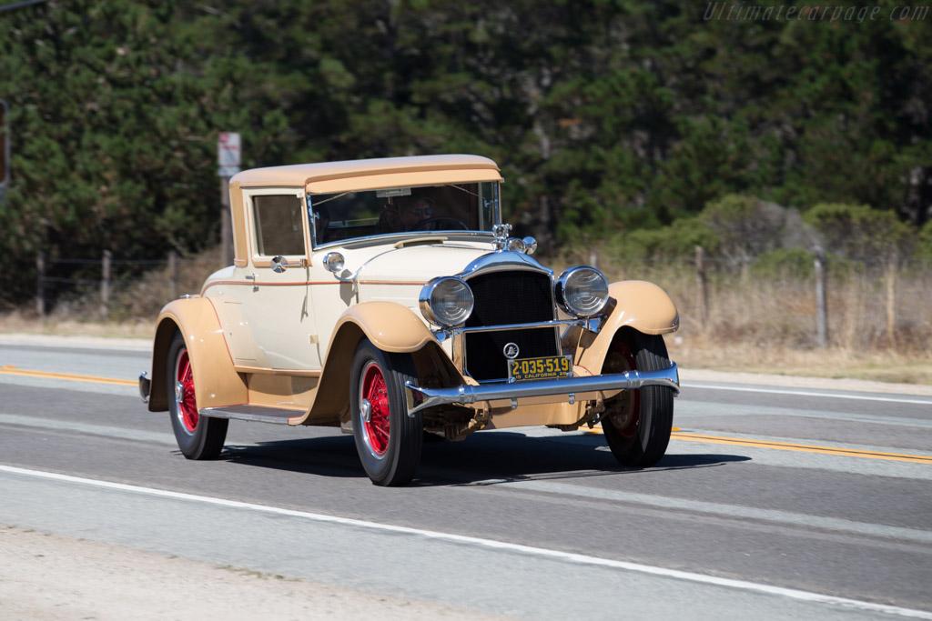 Packard 443 Eight Dietrich Coupe  - Entrant: Michelle & Martin Cousineau  - 2015 Pebble Beach Concours d'Elegance
