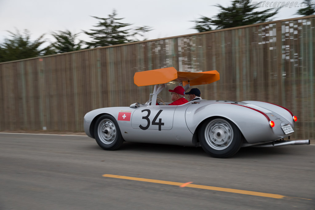 Porsche 550 Rs Chassis 550 0031 Entrant Ugo Gussalli
