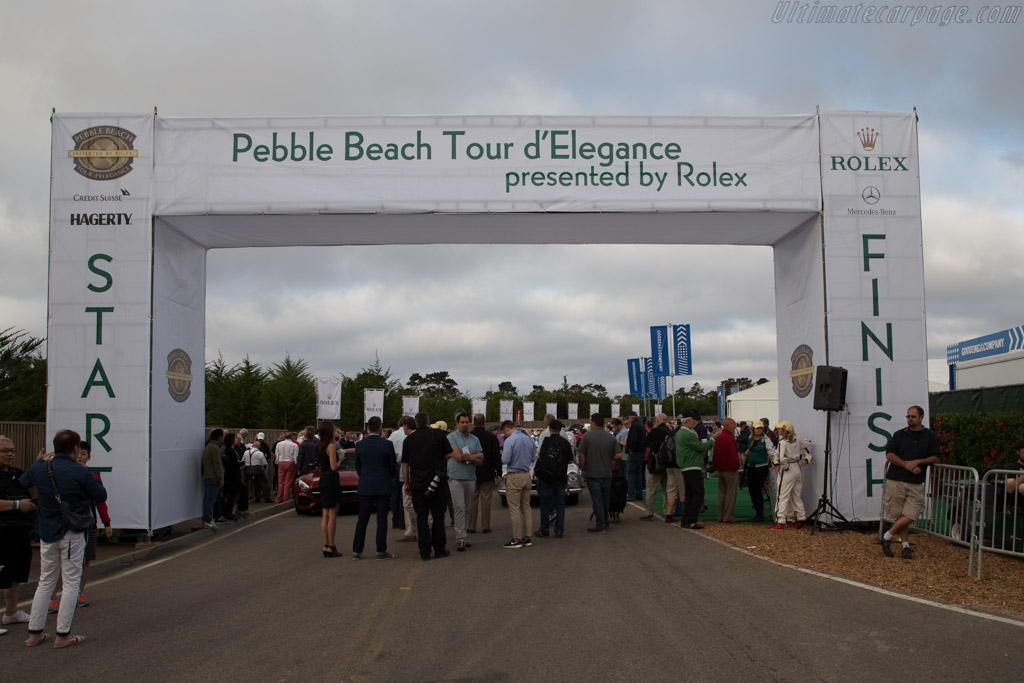 Welcome to the Tour d'Elegance    - 2015 Pebble Beach Concours d'Elegance