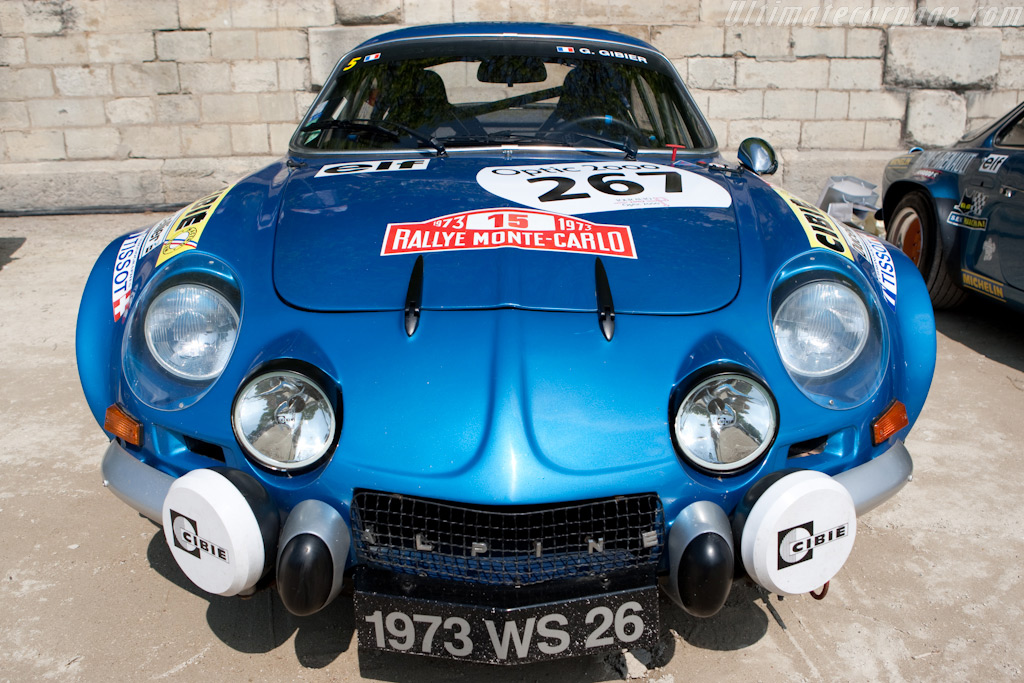 Alpine A110    - 2009 Tour Auto