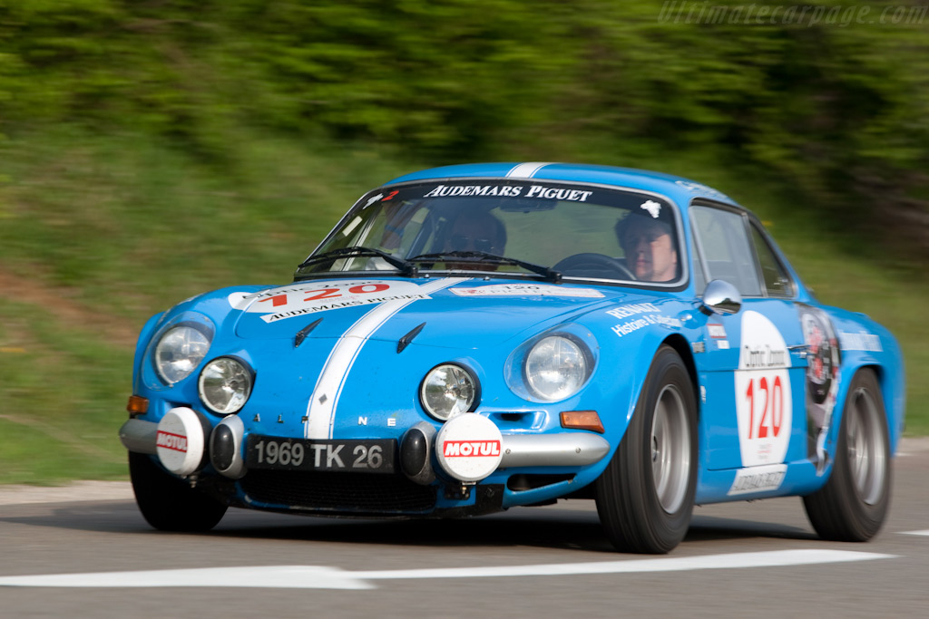 Alpine A110 1600S Group 3    - 2009 Tour Auto