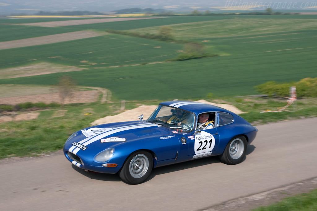 Jaguar E-Type    - 2009 Tour Auto