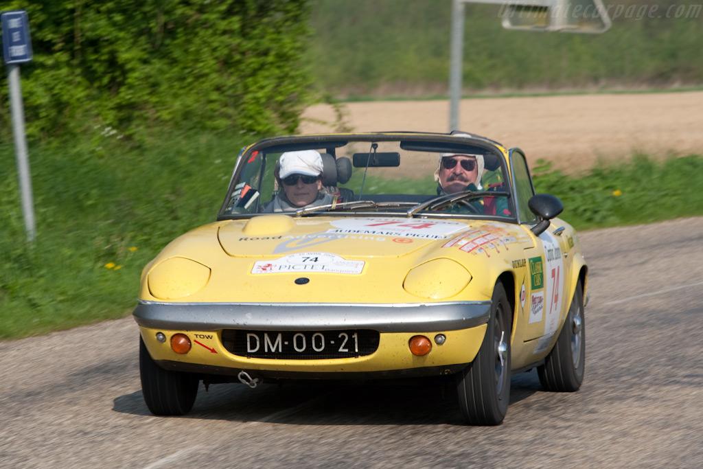Lotus Elan    - 2009 Tour Auto