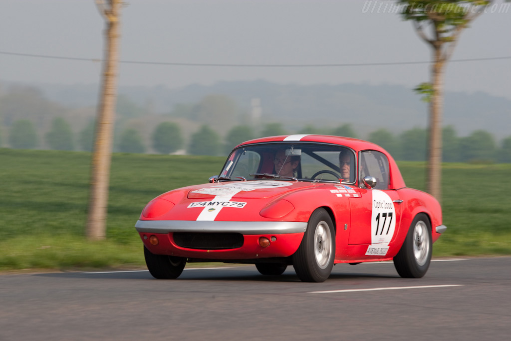 Lotus Elan    - 2009 Tour Auto