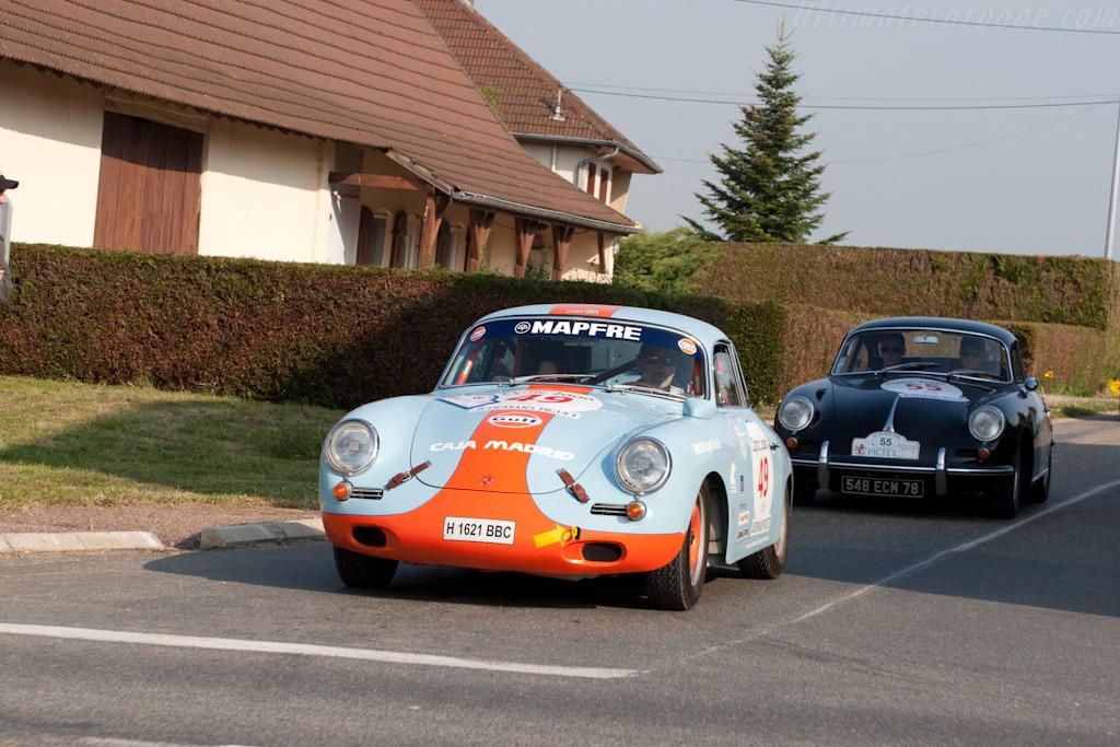 Porsche 356 SC    - 2009 Tour Auto