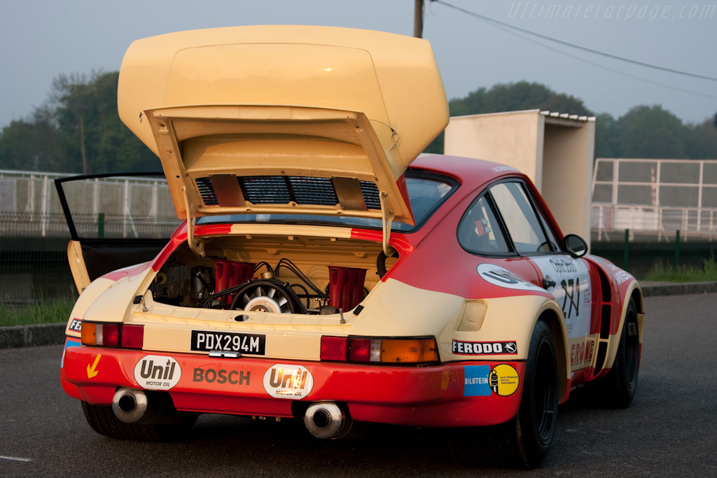 Porsche RSR at Montlhery - Chassis: 911 460 9058   - 2009 Tour Auto
