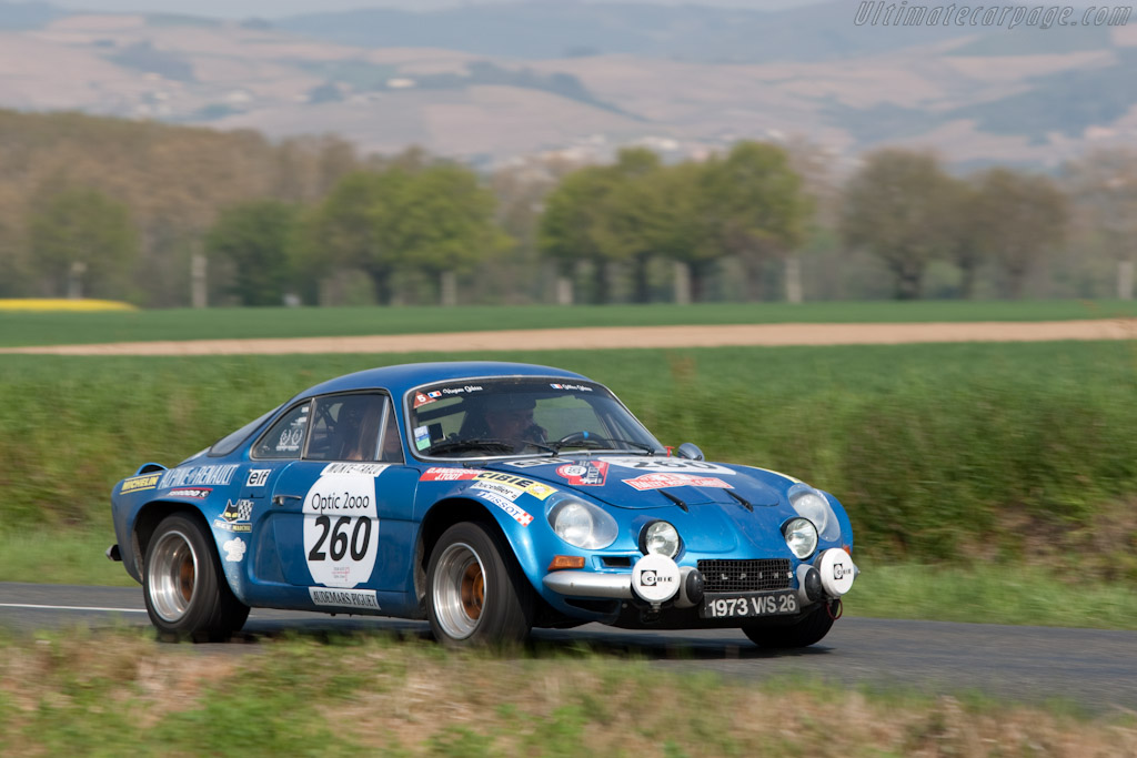 Alpine A110 1800 Group IV    - 2010 Tour Auto