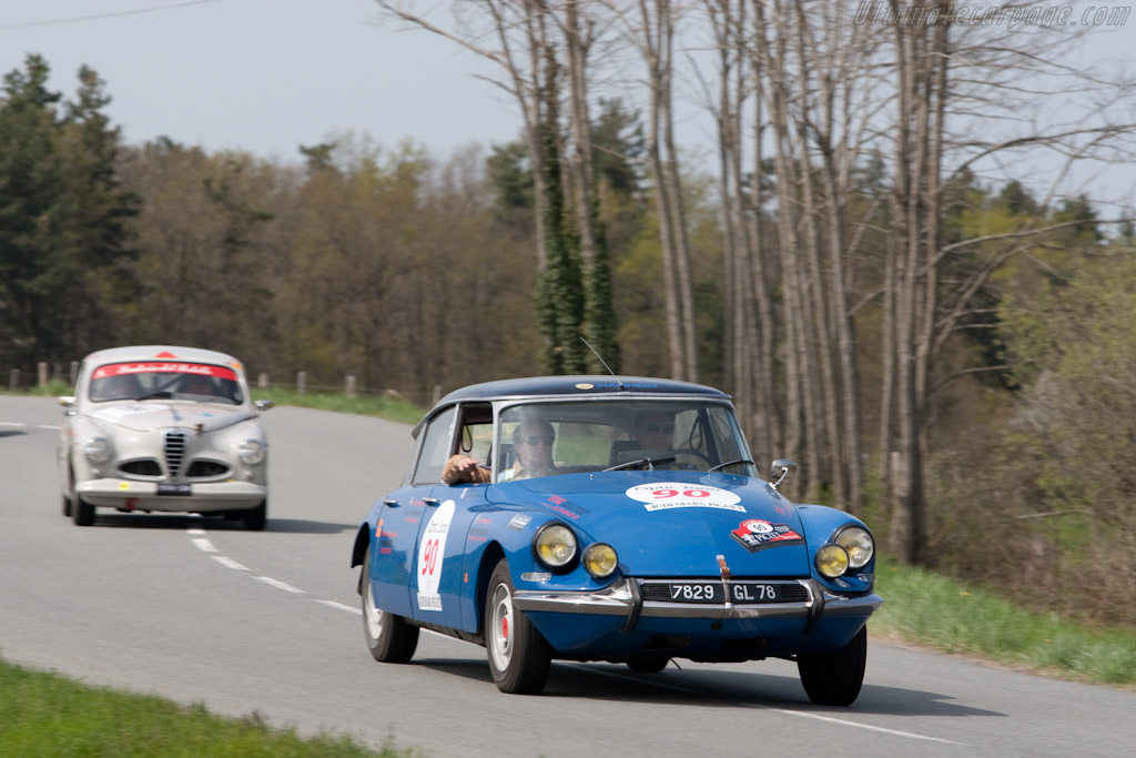 Citroën DS 19    - 2010 Tour Auto