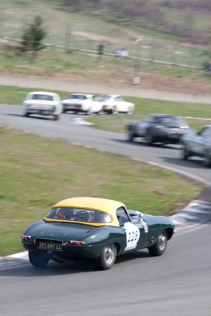 Jaguar E-Type    - 2010 Tour Auto