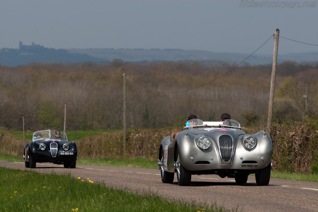 Jaguar XK120    - 2010 Tour Auto