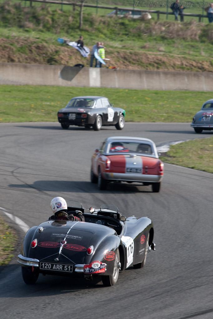 Jaguar XK140   - 2010 Tour Auto