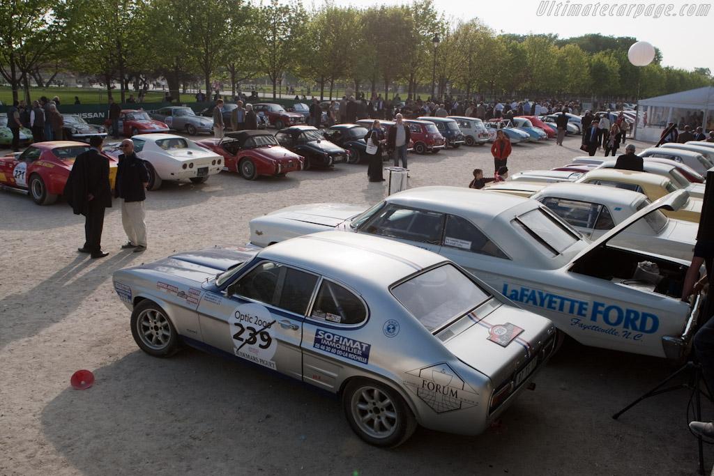 Les Tuileries    - 2010 Tour Auto