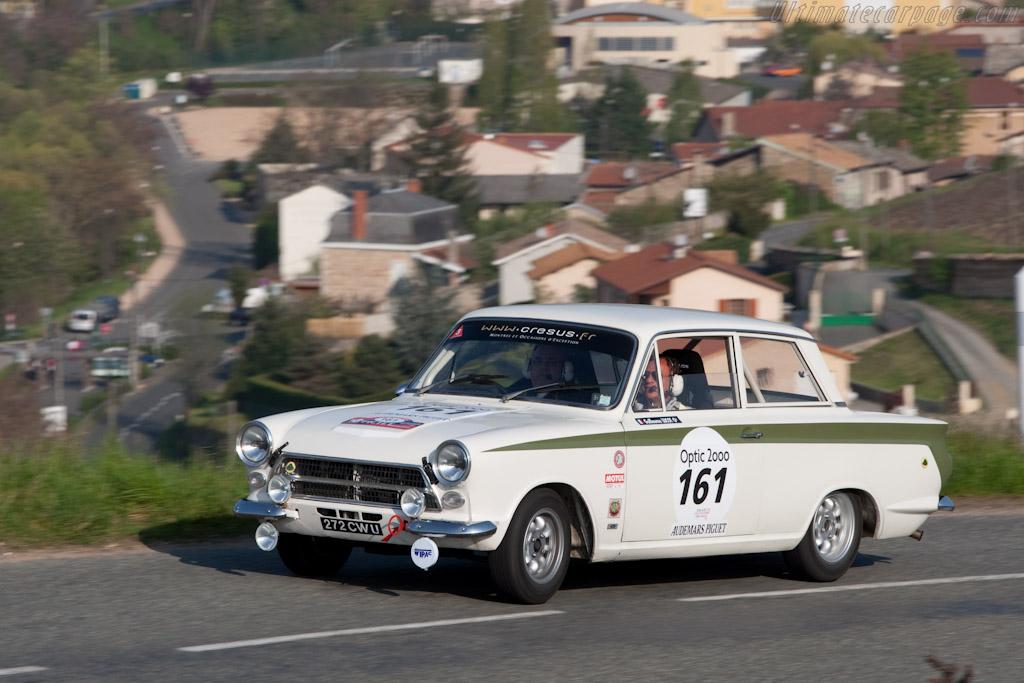 Lotus Cortina    - 2010 Tour Auto