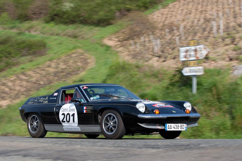 Lotus Europa    - 2010 Tour Auto
