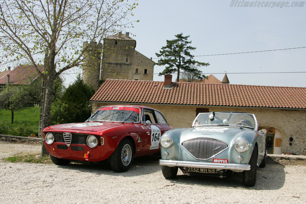 Lunch at Chateau de Rosay    - 2010 Tour Auto
