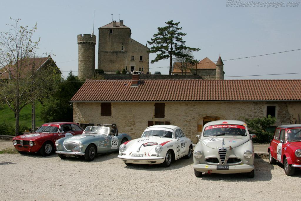 Lunch at Chateau de Rosay    - 2010 Tour Auto