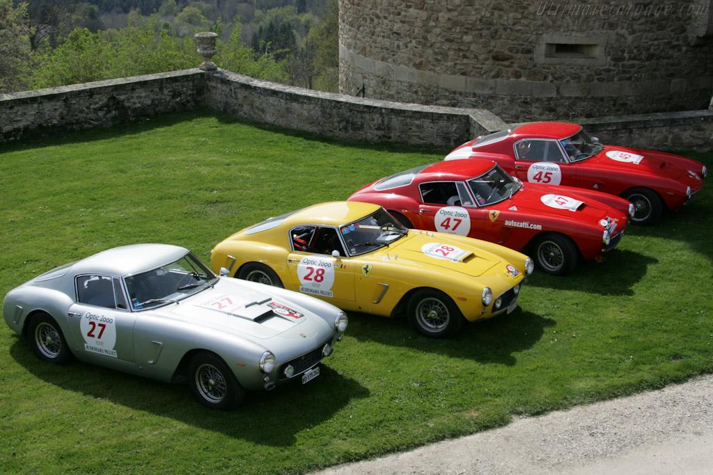 Lunch at Chateau de Vollore    - 2010 Tour Auto