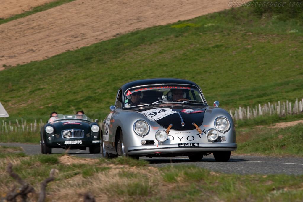 Porsche 356 A    - 2010 Tour Auto
