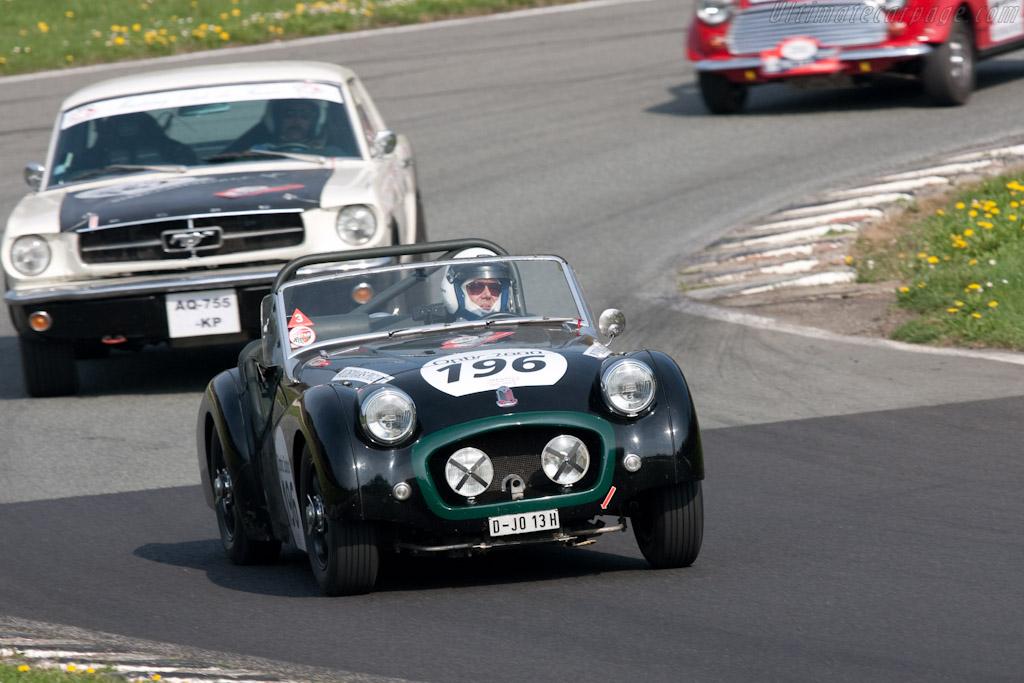 Triumph TR2    - 2010 Tour Auto