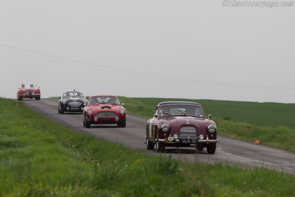 Aston Martin DB2/4    - 2013 Tour Auto