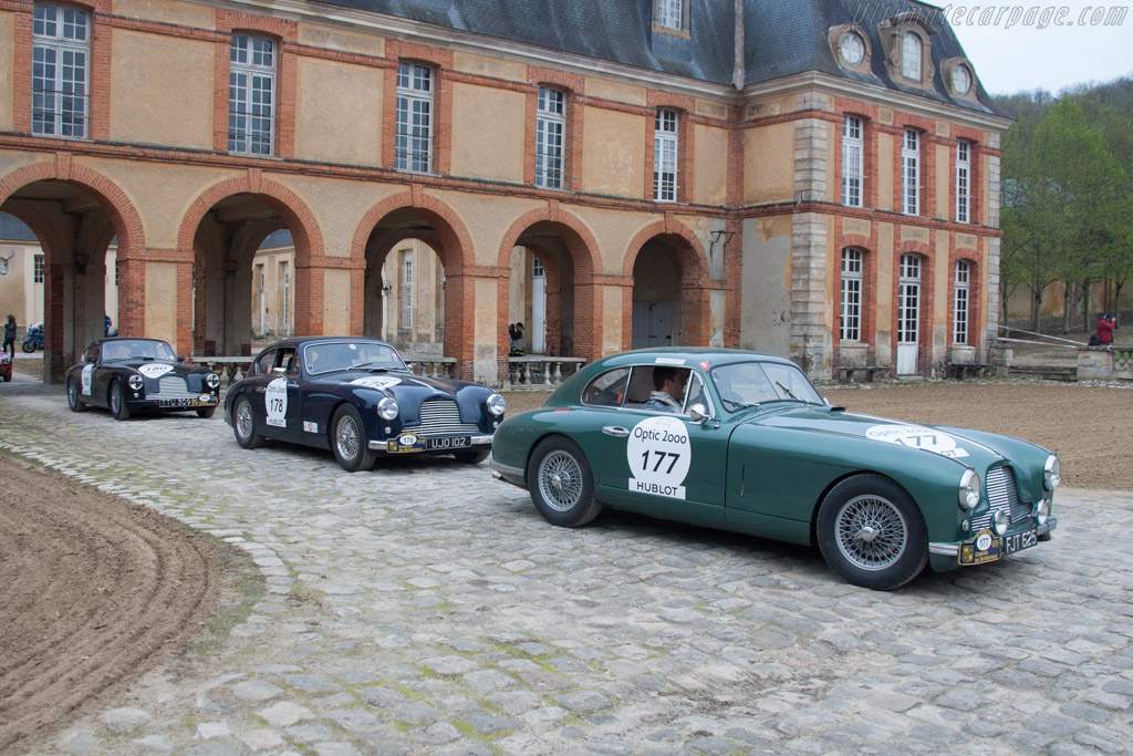 Aston Martin DB2    - 2013 Tour Auto