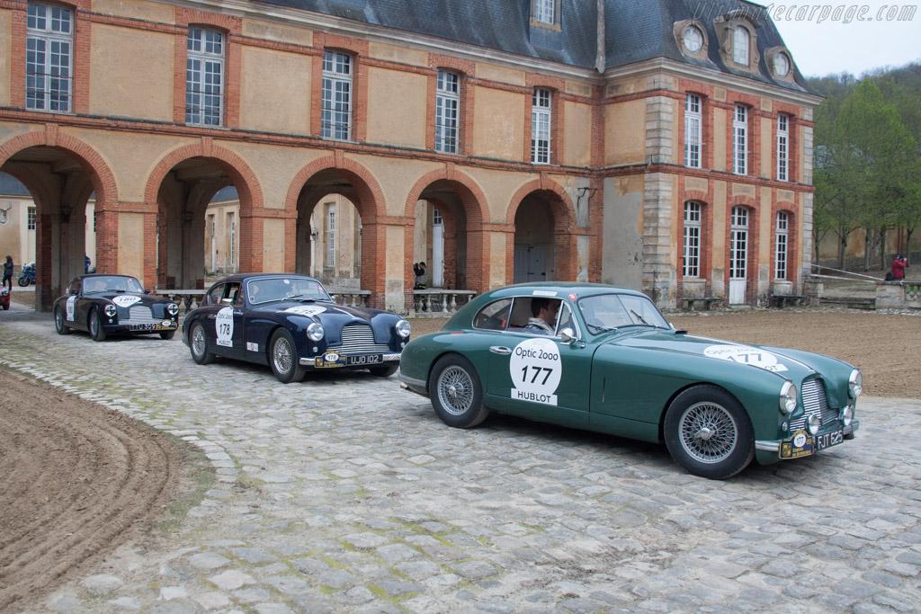 Aston Martin DB2    - 2013 Tour Auto