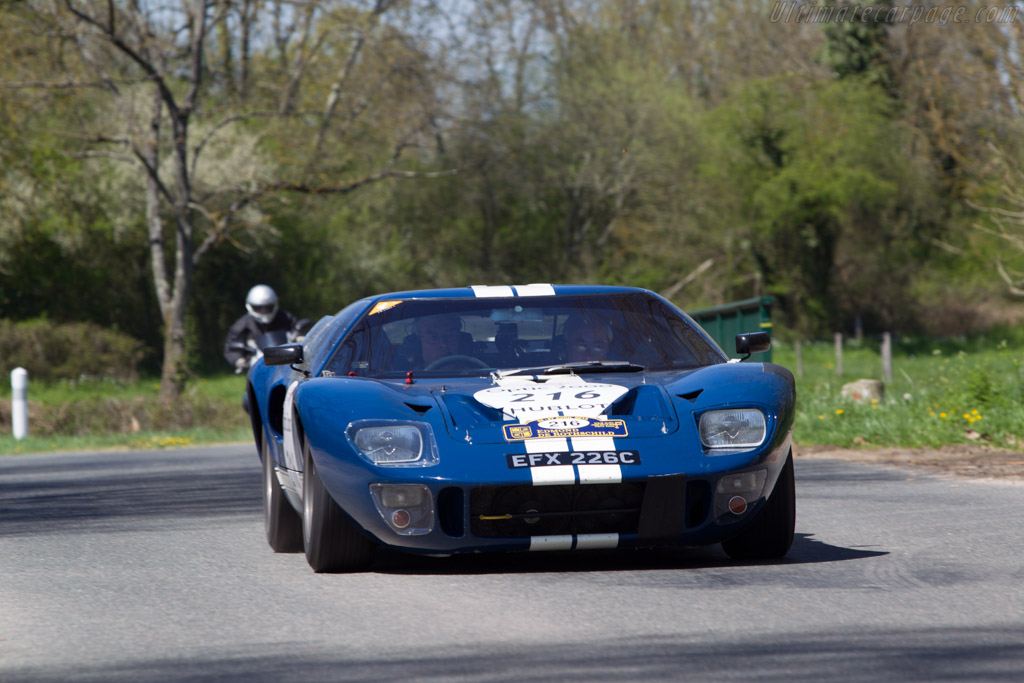 Ford GT40 - Chassis: GT40P/1024   - 2013 Tour Auto