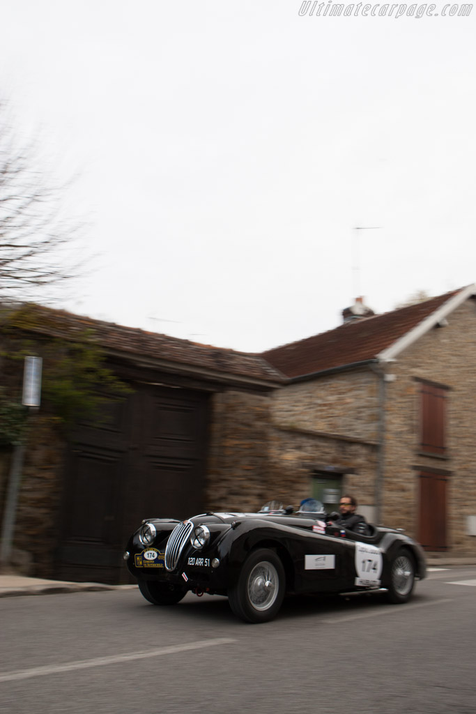 Jaguar XK140    - 2013 Tour Auto
