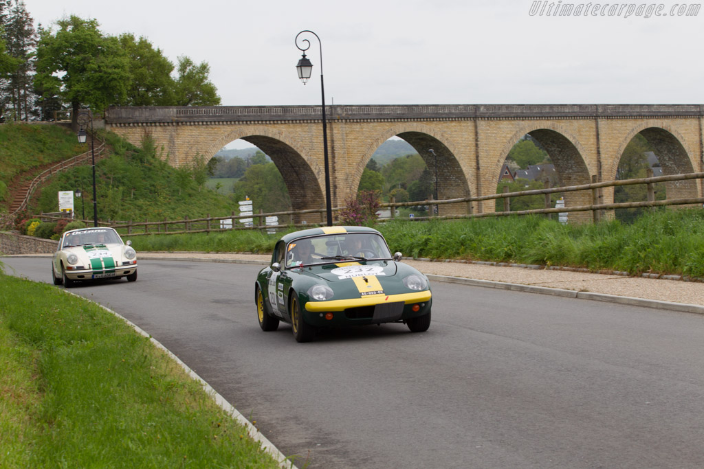 Lotus Elan    - 2013 Tour Auto