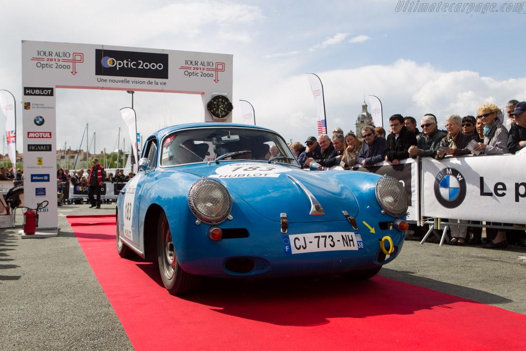 Porsche 356    - 2013 Tour Auto