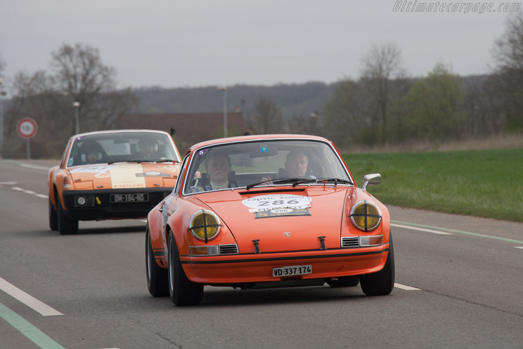 Porsche 911 ST 2.5    - 2013 Tour Auto