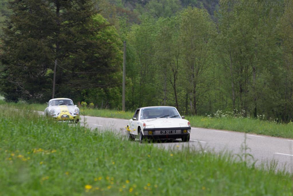 Porsche 914/6    - 2013 Tour Auto