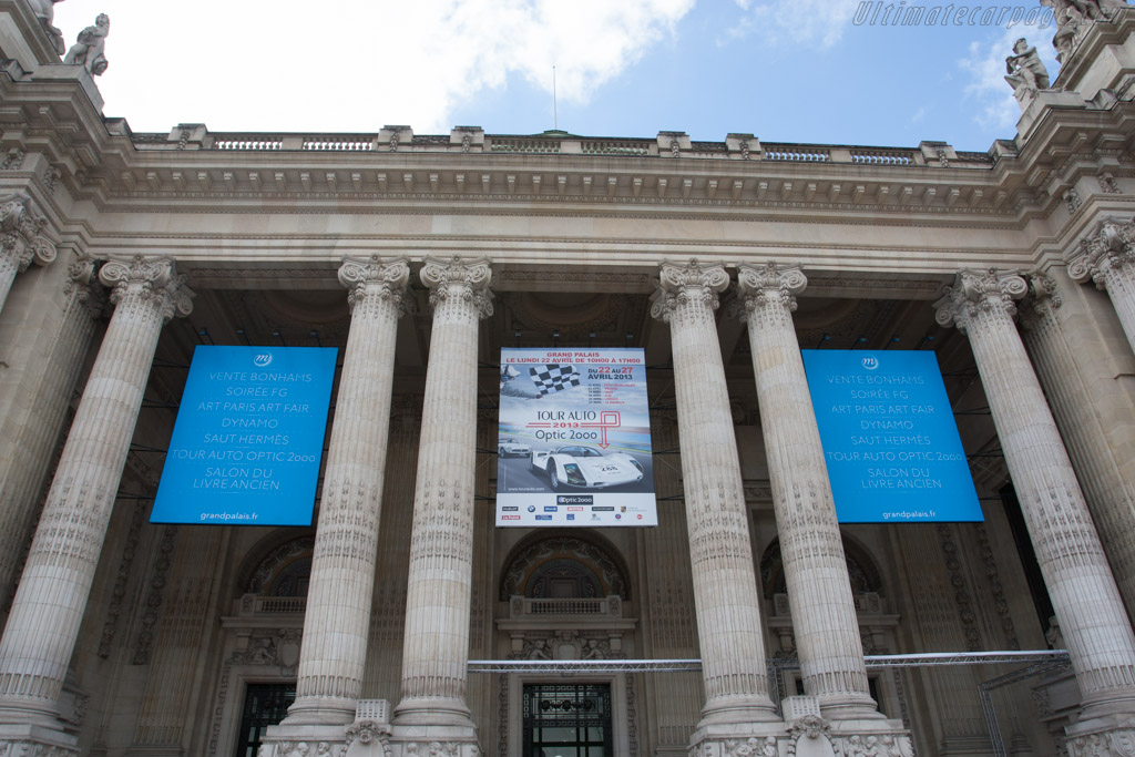 Welcome to Le Grand Palais    - 2013 Tour Auto