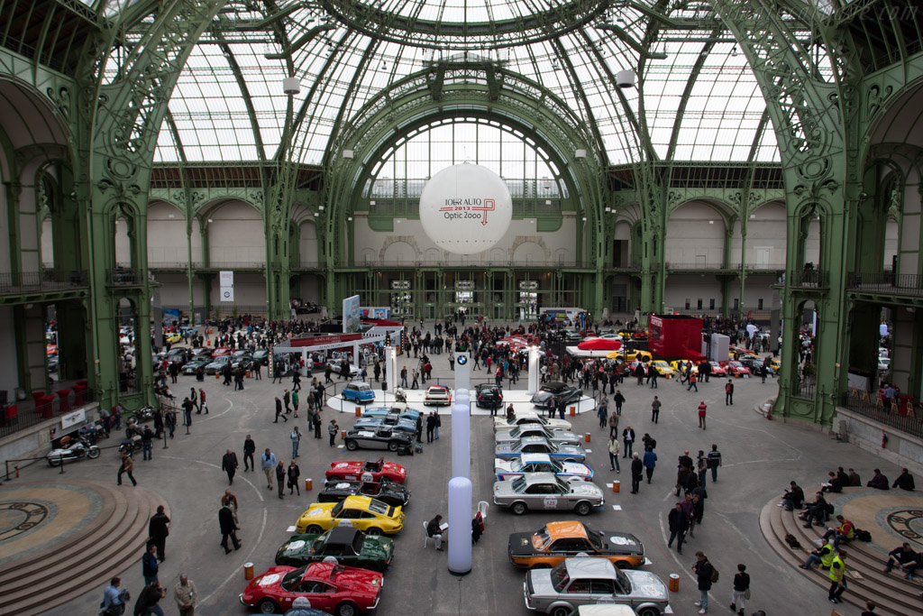 Welcome to Le Grand Palais    - 2013 Tour Auto