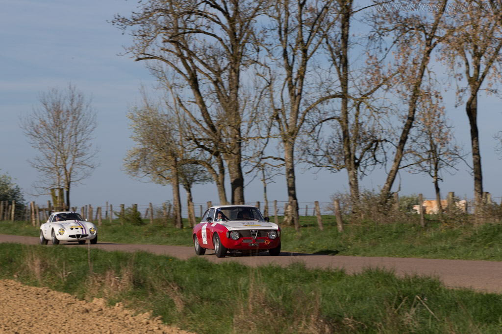 Alfa Romeo Giulia 1600 GTA - Chassis: AR613036 - Driver: Nicolas Comar / Ronaldo da Cunha  - 2014 Tour Auto