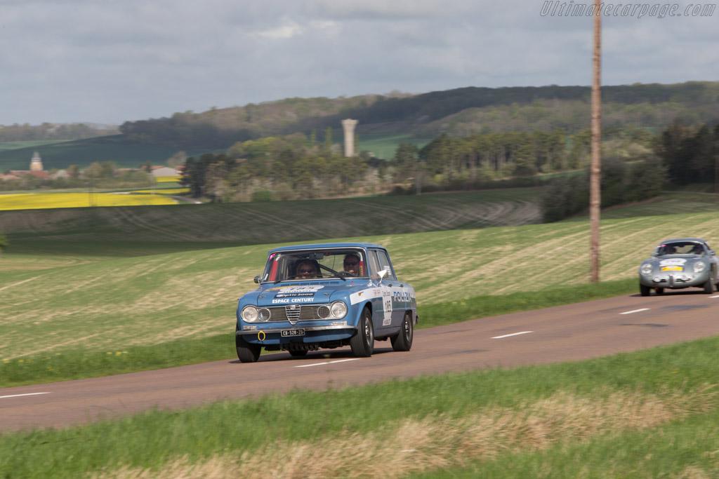 Alfa Romeo Giulia  - Driver: Pierre Adamski / Laurence Clement  - 2014 Tour Auto