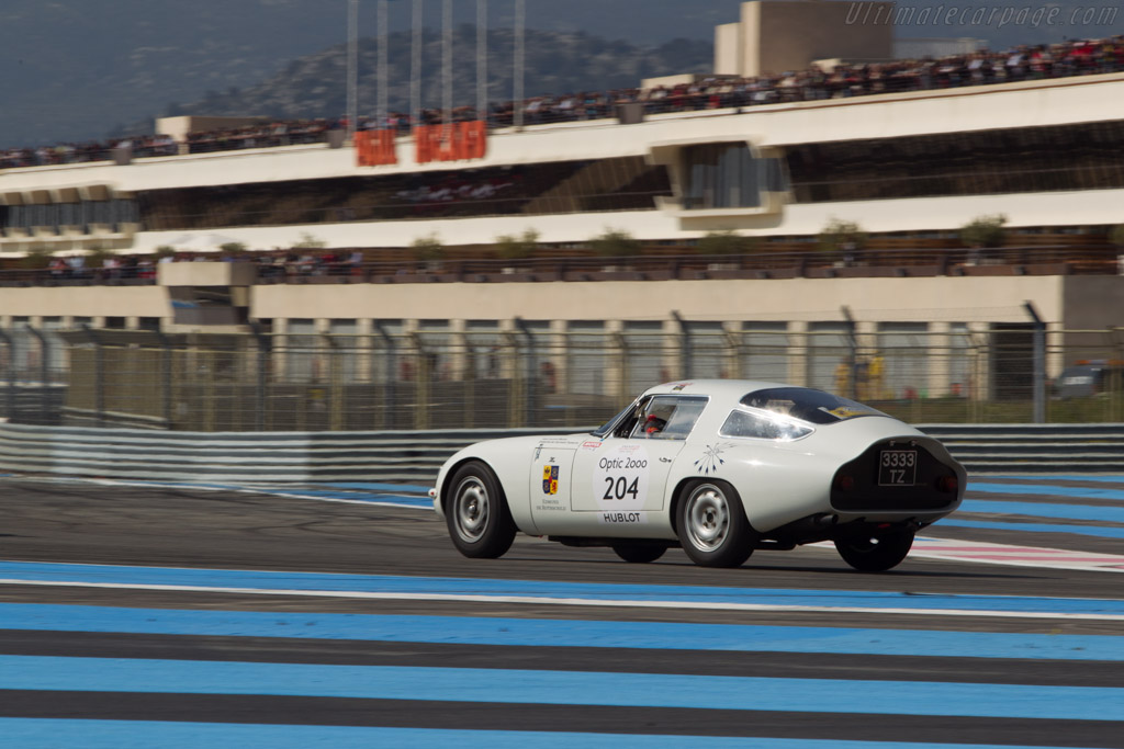 Alfa Romeo TZ  - Driver: Jean Laurent-Bellue / De Clermont-Tonnere  - 2014 Tour Auto