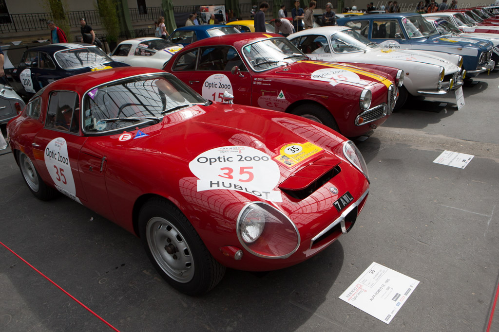 Alfa Romeo TZ - Chassis: AR750080 - Driver: John Bennett / Susan Bennett  - 2014 Tour Auto