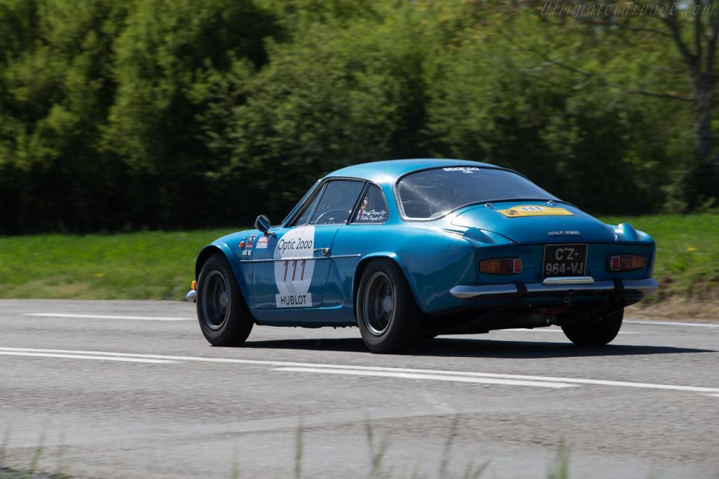 Alpine A110 1600 S - Chassis: 17439 - Driver: Pierre Ragues / Marcel Ragues  - 2014 Tour Auto