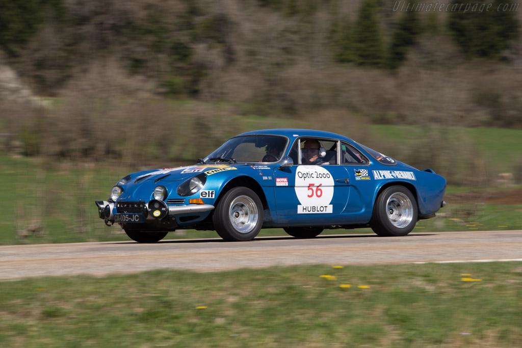 Alpine A110 1600 S - Chassis: 17134 - Driver: Georges Henri Meylan / Julien Stervinou  - 2014 Tour Auto